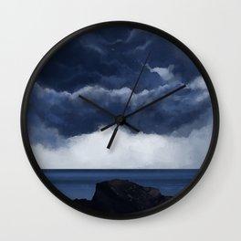 Clouds 02 Wall Clock