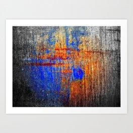 Hard Color Art Print