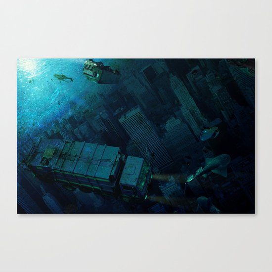 The End of the Beginning Canvas Print