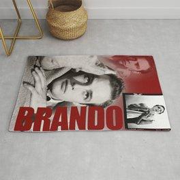 Marlon Brando Collage 3 Rug