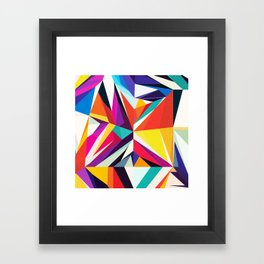 MOSTLY GOOD THINGS Framed Art Print