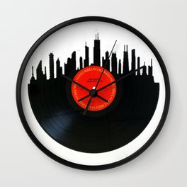 Chicago Record Wall Clock