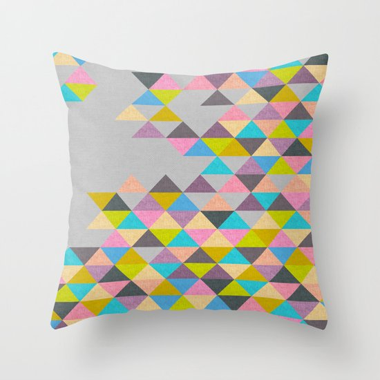 Completely Incomplete Throw Pillow
