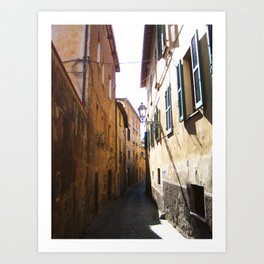 Alley In Italy Art Print