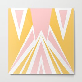 Cute Triangles Metal Print