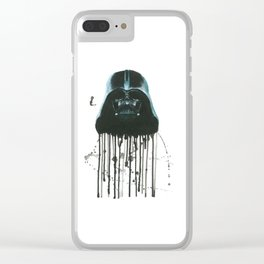 Darth Vader Clear iPhone Case