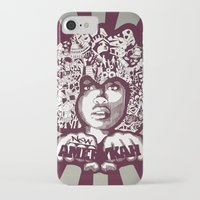 erykah badu iPhone & iPod Cases featuring Erykah Badu by Triptih