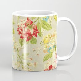 Rose Bird Floral Spring Coffee Mug