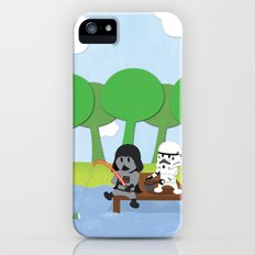 SW Kids - Darth Fishing iPhone (5, 5s) Slim Case