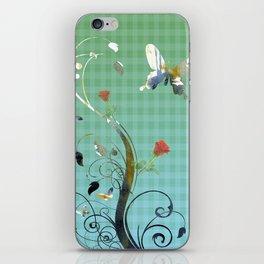 distilled life iPhone Skin