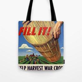 Fill It ! Tote Bag