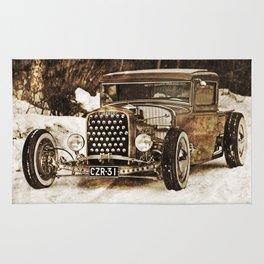 The Pixeleye - Special Edition Hot Rod Series IV Rug