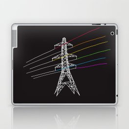The Dark Side of Electricity Laptop & iPad Skin
