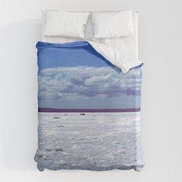 Salty horizon Duvet Cover