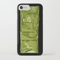 hustle iPhone & iPod Cases featuring HUSTLE by clogtwo