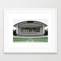 theater Framed Art Prints featuring Theater by Philport Photography