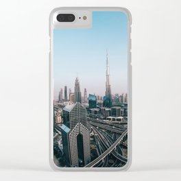 View from Dubai Clear iPhone Case