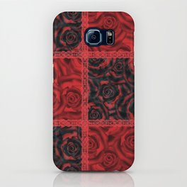 Patchwork . Roses are red. iPhone Case