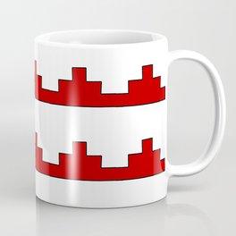 Heraldic – embattled grady- Coupé pigeonné Coffee Mug