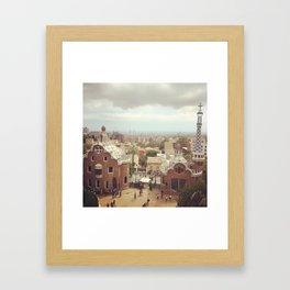 Park Guell Spain Framed Art Print
