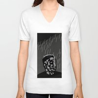 kendrick lamar V-neck T-shirts featuring Kendrick Lamar by Mr Mamu