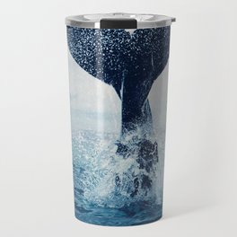 Your dance for the ocean, vast and blue Travel Mug