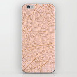 Buenos Aires map, Argentina iPhone Skin
