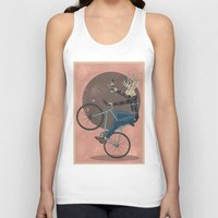 jackalope Tank Tops featuring Jackalope by Kelli Shaver