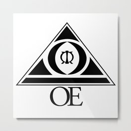 (OE) Overcome Everything Metal Print