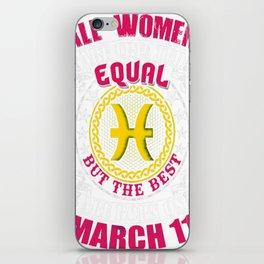 Best-Women-Born-On-March-11-Pisces---Sao-chép iPhone Skin