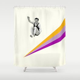 I Can Jump Higher Shower Curtain
