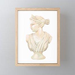 Goddess Diana Framed Mini Art Print