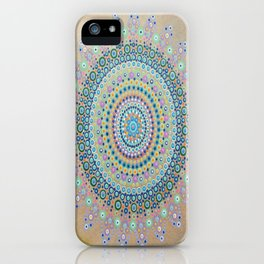 Mursy Hill Wish Board Mandala iPhone Case