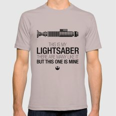 This is my Lightsaber (Luke Version) Cinder Mens Fitted Tee LARGE