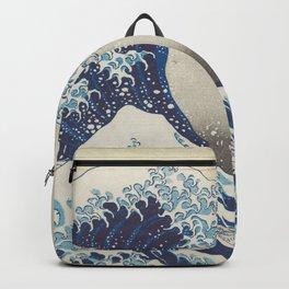 HD Original Great Wave Off Kanagawa Backpack