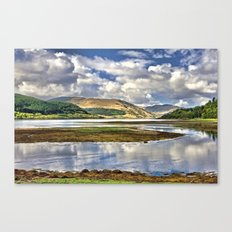 Loch Sunart from Strontian Canvas Print