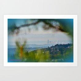 Pinnacle Peak Art Print