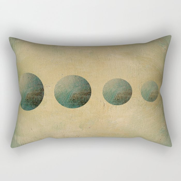 Going Underground Rectangular Pillow