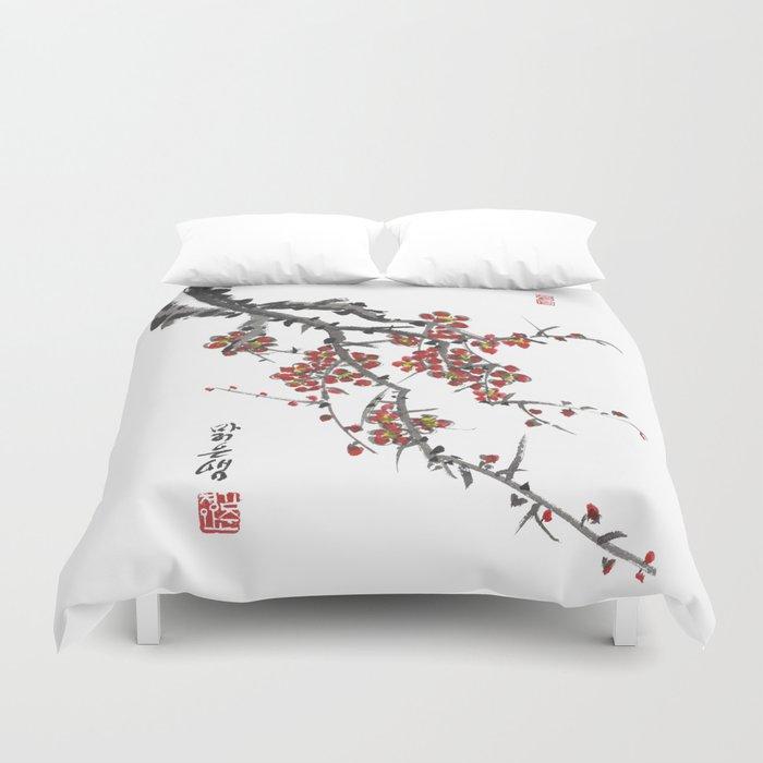 Cherry Blossom Two Duvet Cover