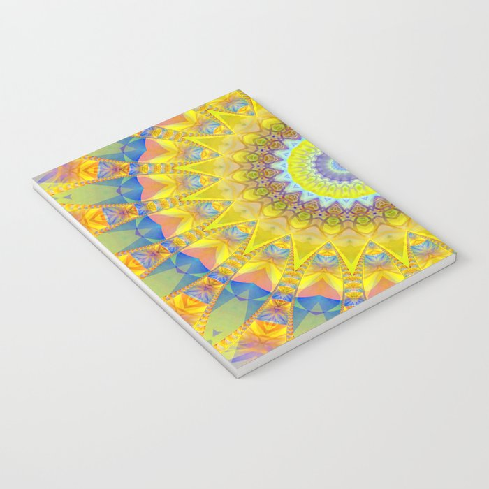 Mandala sun 2 Notebook