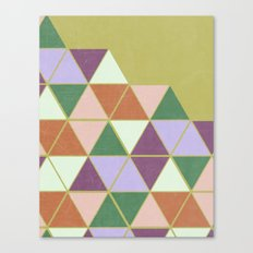 Hexaflexagon Canvas Print