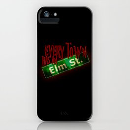 Every Town Elm Street iPhone Case