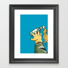 Molotov Framed Art Print