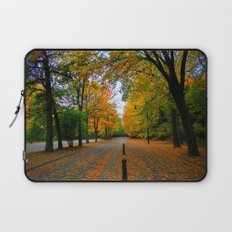 Fall road Laptop Sleeve