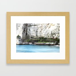 Abbandonato Framed Art Print