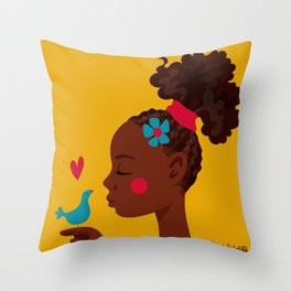 Black History Month Throw Pillow