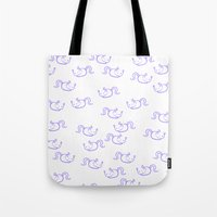a lot of cats Tote Bags featuring a lot of cats by jenyoyo