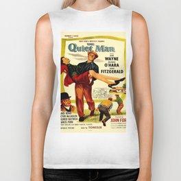 Vintage poster - The Quiet Man Biker Tank