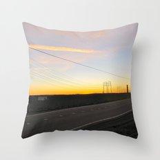 Camarillo Sunset Throw Pillow