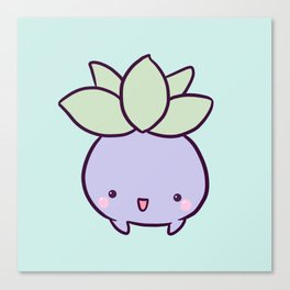 Happy Turnip Canvas Print